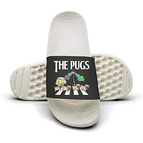 Sandals Slippers cosplay dog Mules The Woman adipugs Slides pug Dog Summer Pug Rq1x4Xw