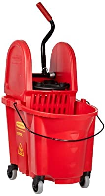 Rubbermaid Commercial WaveBrake Down Press Combo High-Performance Mopping System