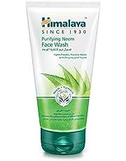 HIMALAYA HERBALS Rengörande Neem-ansiktstvättgel 150 ml | Naturlig fuktgivande ansiktsrengöring | Rengör porer noggrant och lindrar akne | örtansikte rengöring med oljekontroll