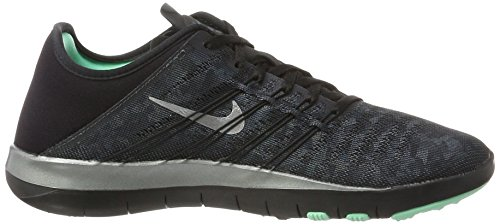 001 NIKE de Fitness Metallic Black Silver Grey Dark Adulte Chaussures 849805 Grigio Mixte 5OROq4