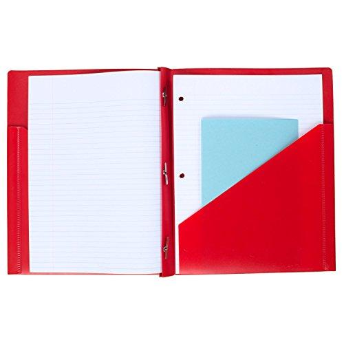 Five Star 2 Pocket Folders With Prong Fasteners, Folders