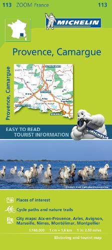 Michelin Provence, Camargue Zoom Map 113 (Michelin Zoom Maps)