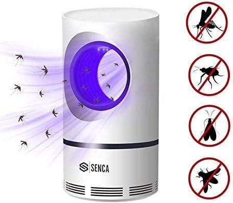 no t/óxico ventilador gnat moscas de frutas mosquitos luz UV seguro para ni/ños insectos trampa incluso los insectos voladores m/ás peque/ños Trampa para insectos para interiores sin zapper