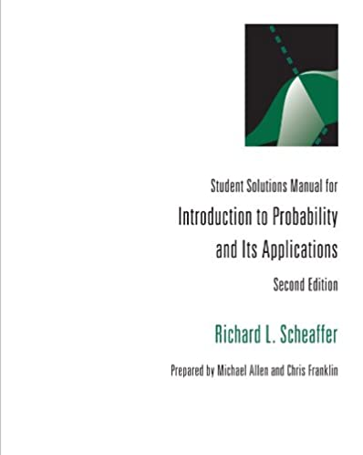 amazon com introduction to probability and it s applications rh amazon com Accounting Information Systems Probability Genetics