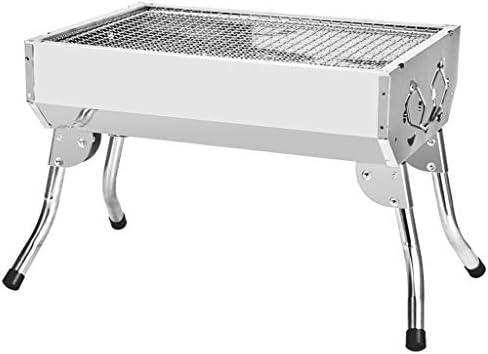 Barbacoa portátil al aire libre Parrilla de carbón, acero ...