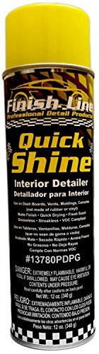 - Finish Line Quick Shine - Professional Auto Interior Detailer