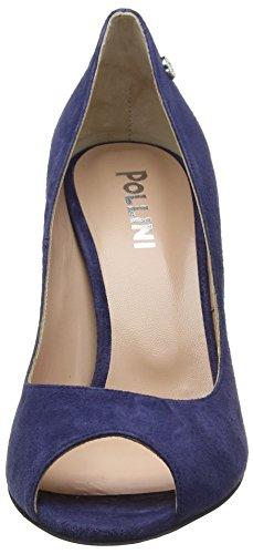 753 Oceano Ouvert Bout W Escarpins Bleu Sandal Femme Pollini Wq8paB