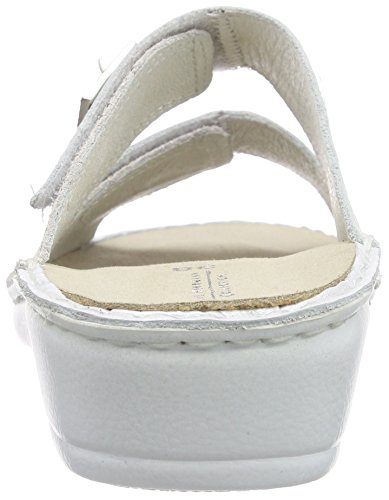 Boa Herrmann Weiß Women's HHC Hans Collection New Clogs 21 Bianco 8PxnAX