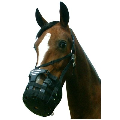 Best Friend Deluxe All-In-One Have a Heart Muzzle Grazing Muzzle Cob