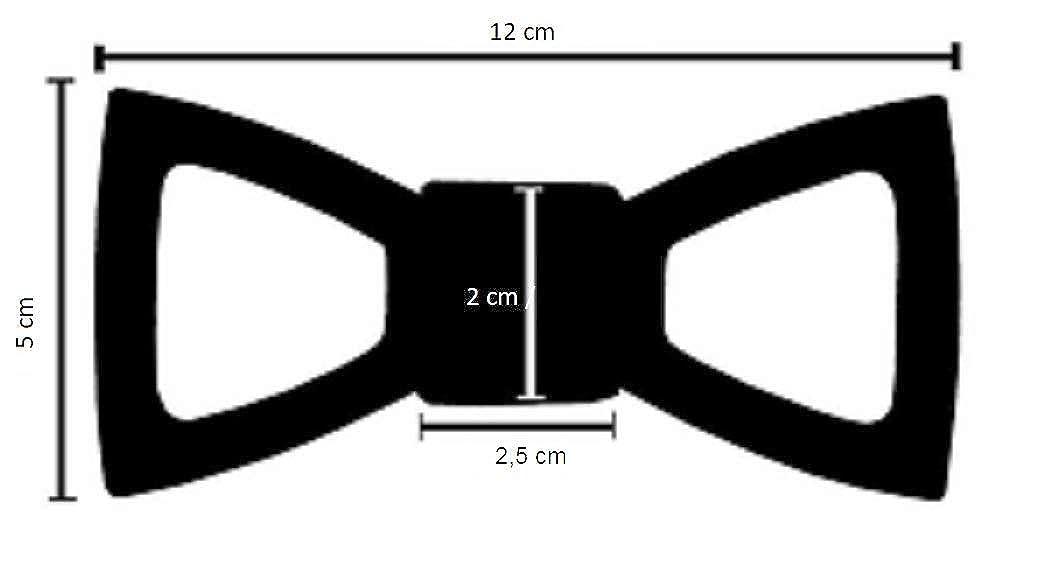 SetProducts ⭐️ Marrone 97 Effetto garantito ⭐️ Papillon in Legno Marrone e Rosso | Fatto a Mano | Elegante, Moda e Tendenza | Diversi Modelli e Colori Disponibili | Dimensione Regolabile