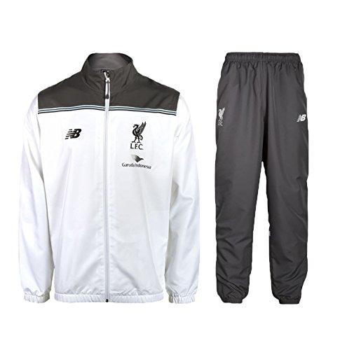 2015-2016 Liverpool Presentation Tracksuit (White): Amazon.es ...