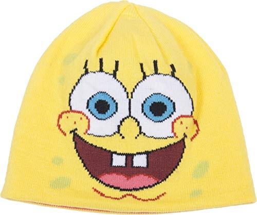 Spongebob Squarepants and Patrick Star Reversible Knit Hat -