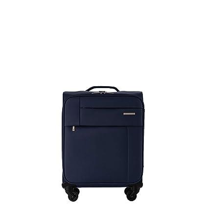 PACO MARTINEZ |Maleta de Cabina semirrígida Royal con Bolsillo Frontal 4 Ruedas| Equipaje de Mano Color Azul Marino|Capacidad máxima autorizada para ...