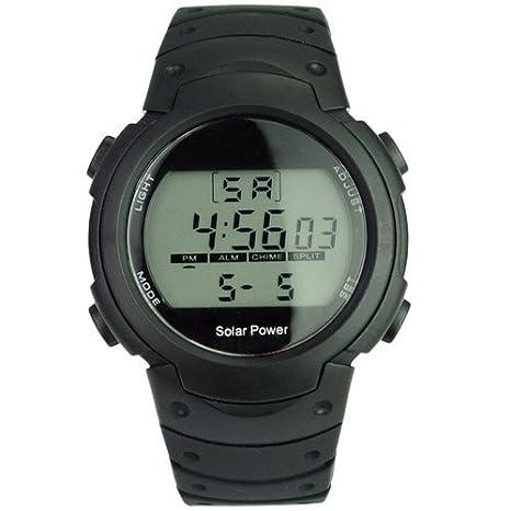 CursOnline Reloj Unisex Sport solar y Litio, niño o Moderno Crono Diagral, luz Led de gran relación calidad/precio.: Amazon.es: Deportes y aire libre