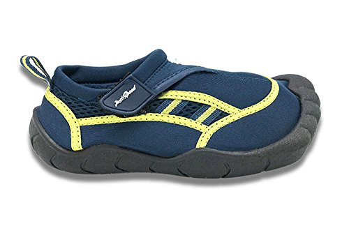 (Just Speed Boys Toes Finger Aqua Shoe Size 11 D Navy/Yellow)
