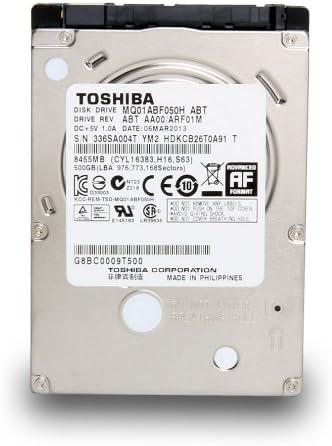 Toshiba MQ01ABF050H - Disco Duro Interno de 500 GB (6,3 cm, 2,5 ...