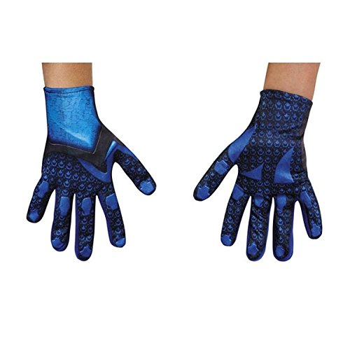 Power Rangers Blue Ranger Child Gloves (Child Blue Ranger Gloves)