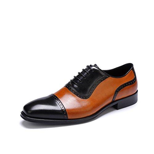 Hommes Chaussures en Cuir Printemps Automne Bullock Chaussures Confort Oxfords