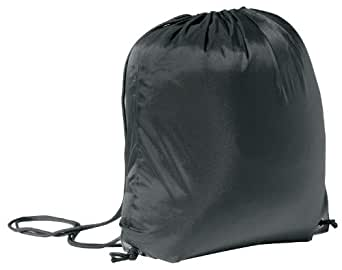 Drawstring Backpack, Black
