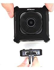 Telesin Stativhalterung für Nikon KeyMission 170, Nikon KeyMission 360 Wi-Fi Shock & Waterproof 4K Video Action Kamera Camcorder, 0,6 cm (1/4 Zoll)