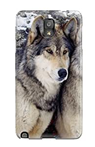 For Galaxy Note 3 Tpu Phone Case Cover(wolf)