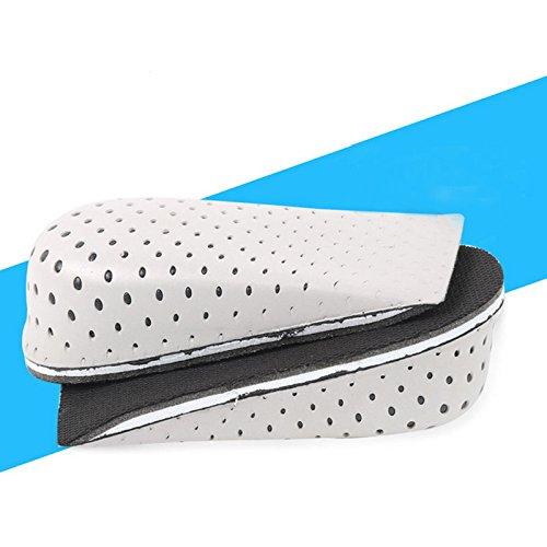 Men Women 1 Pair Memory Foam Height Increase Insole Heel Lift Insert Cushion Shoe Taller Pad (Height Increase 4 cm) by Hujukuludusu (Image #7)