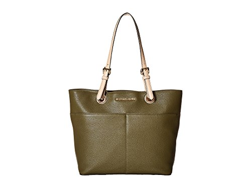MICHAEL Michael Kors Bedford Pocket Tote (Olive) by Michael Kors