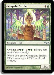 Magic: the Gathering - Gempalm Strider - Duel Decks: Elves vs Goblins