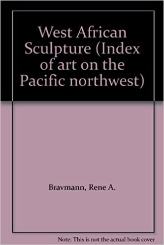 Book West African Sculpture (Index of art on the Pacific northwest)