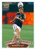 David Beckham trading card (Soccer Futbol Bend It Like Beckham) 2010 Upper Deck World Sports #61 LA Galaxy