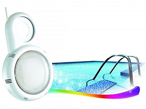 Proyector LED para piscina montaje con boquilla: Amazon.es: Jardín