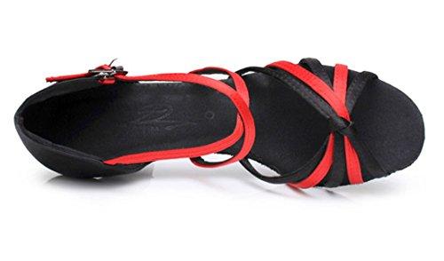 TDA - Zapatos de tacón  mujer 7cm Red Black