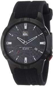 Quiksilver M129JR 2T BBLK - Reloj analógico de caballero de cuarzo con correa de plástico azul
