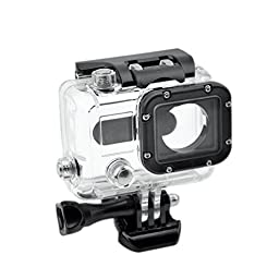 """Toughstyâ""""¢ Plastic Cover Glass Retainer Ring Replacement for GoPro Hero 3 Skeleton Housing"""
