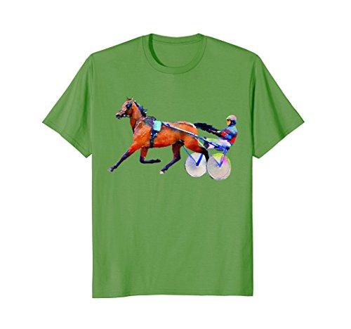 Mens race jockey t-shirt 2XL (Sulky Race)