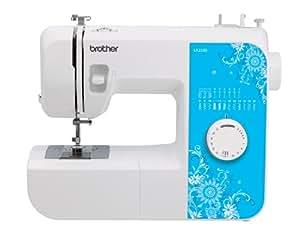 Brother Sewing Machine LX2500 Lightweight - 17 Stitch - 4 Step Buttonholer