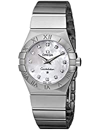Women's 123.10.27.60.55.001 Constellation Mother-Of-Pearl Dial Watch