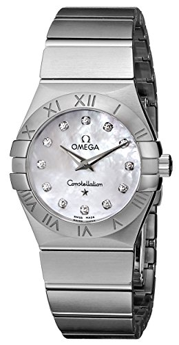 Omega Womens 123.10.27.60.55.001 Constellation Mother-Of-Pearl Dial Watch