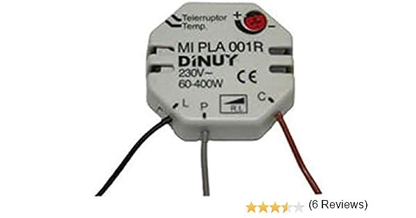 Dinuy MI.PLA.001R - Minutero electronico planta 400w 230v regulador: Amazon.es: Bricolaje y herramientas