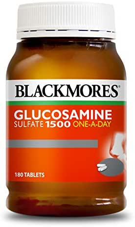 BLACKMORES - BONES AND JOINTS Glucosamine 1500mg 180 Tablets - Joints Pain Relief & Bone Health Support