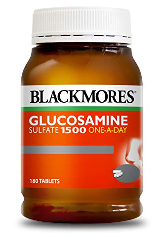 BLACKMORES - BONES AND JOINTS Glucosamine 1500mg 180 Tablets - Joints Pain Relief & Bone Health Support (Best Glucosamine Brand Australia)