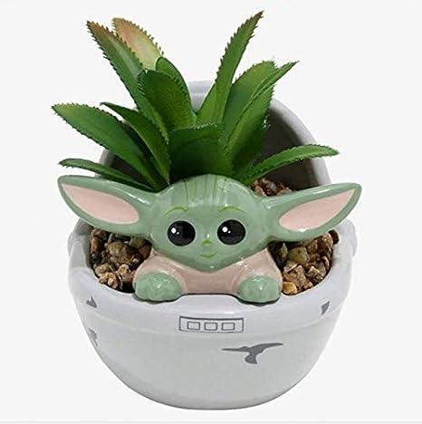 star wars decor,3d printed planter star wars cactus pot Star wars planter succulent plant pot,small indoor planter