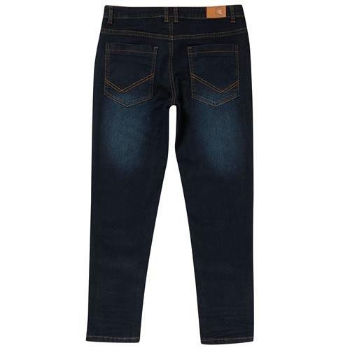 ece4e29b139 More for Kids Boys Plus Size Generous Fit Adjustable Waist Authentic Jeans   Amazon.co.uk  Clothing