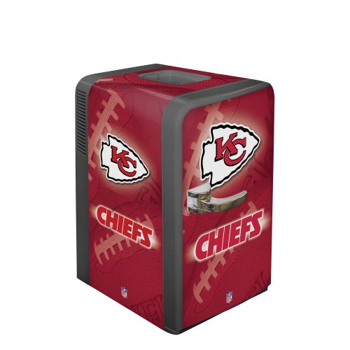 Boelter Brands NFL Kansas City Chiefs Portable Party Fridge, 15 Quarts -