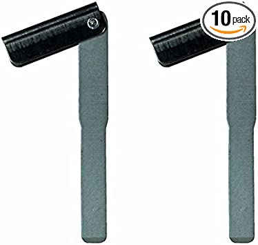 Emergency Smart Key Blade Blank Insert Replacement For Land Rover LR2