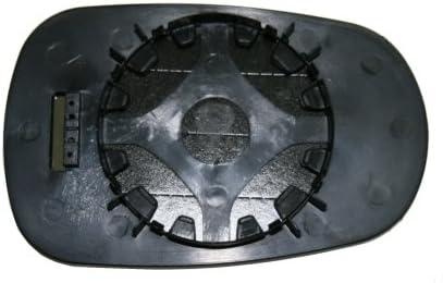 Verre plaque miroir r/étroviseur Logan 2006-2008 gauche