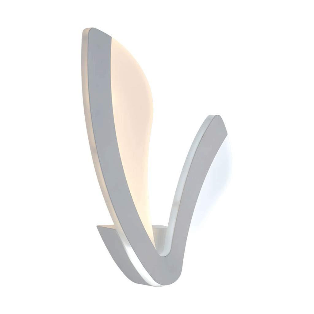 NJ Wandlampe- Moderner minimalistischer LED Wohnzimmerlichtwandhintergrundlampe der Wandlampenschlafzimmer-Nachttischlampe
