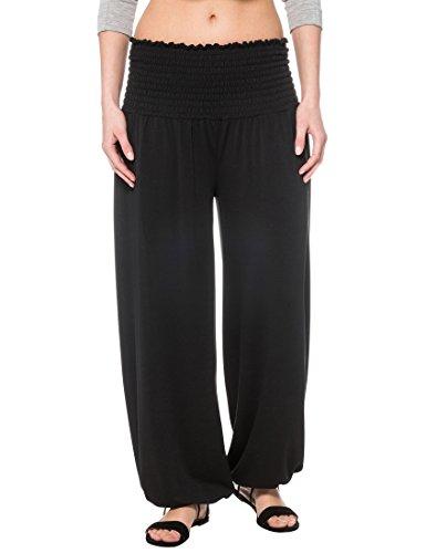 Pantaloni Nero Schwarz Harem taglia Donna Berydale unica Stile Sxnwqd01Y