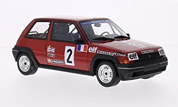 Renault 5 GT Turbo, No.2, 1985, Model Car, Ready-