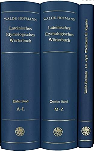 Walde & Hofmann cover